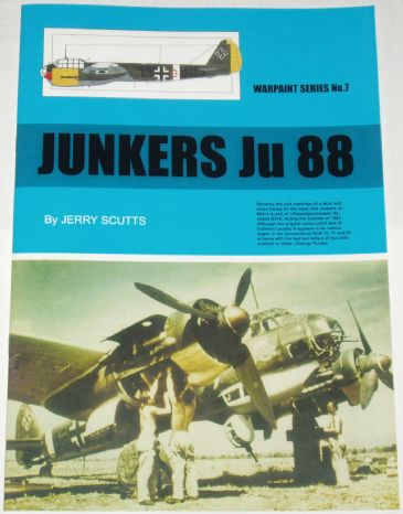 Junkers Ju 88, by Jerry Scutts